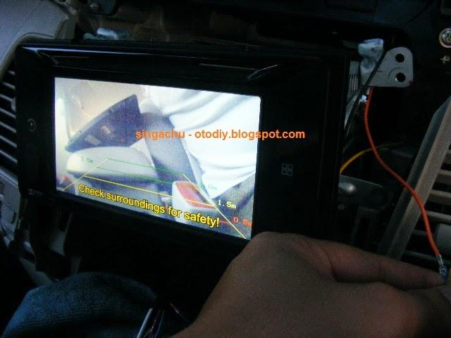 kamera parkir grand new veloz avanza jogja diy test pasang camera mundur di head unit orisinil innova type g