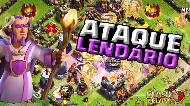 Ataques lendários no Clash of Clans