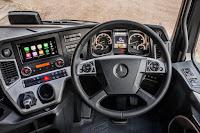 Mercedes-Benz Actros1 (2018) Dashboard