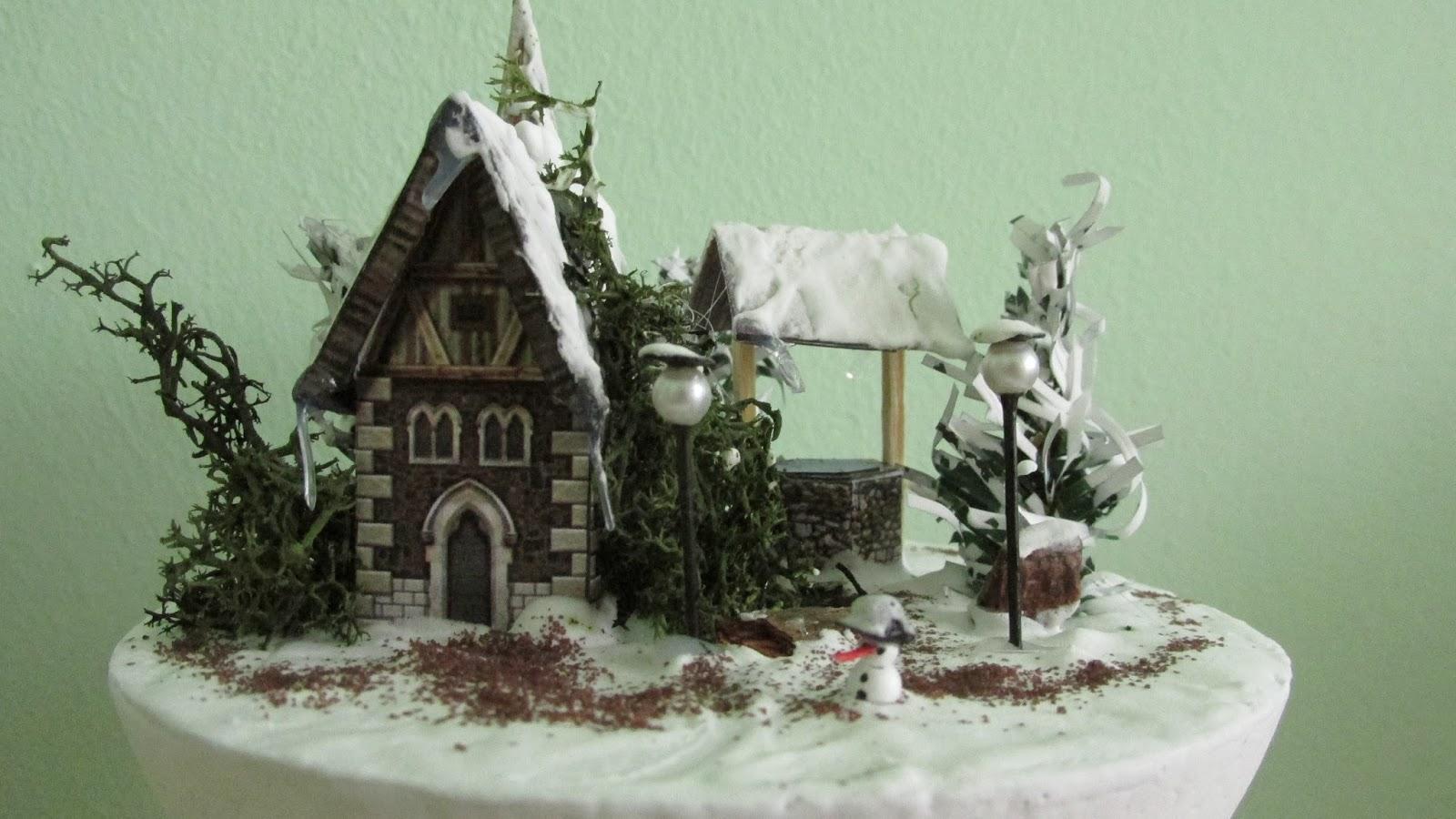 Miniaturki, Makiety, Śnieg