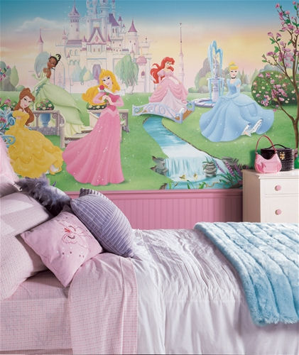 Disney Princess Wall Mural Kids Room