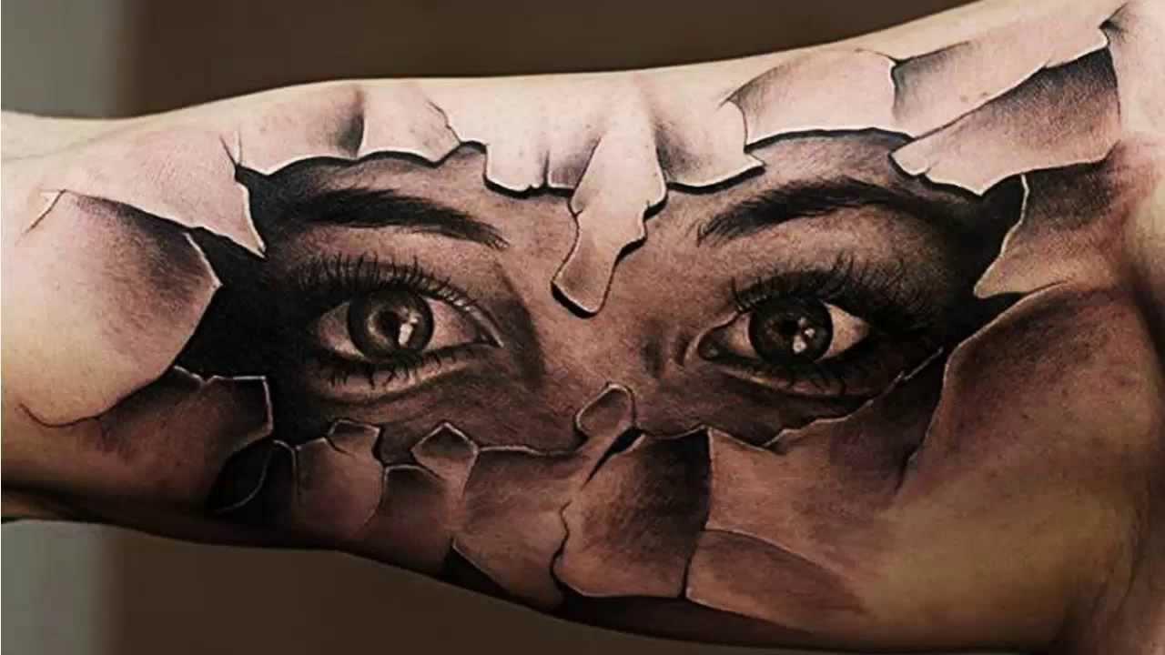 Risultati immagini per best tattoos 3D