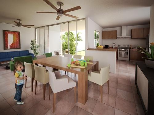 Cocinas con arcos y desayunador for Como decorar un comedor minimalista