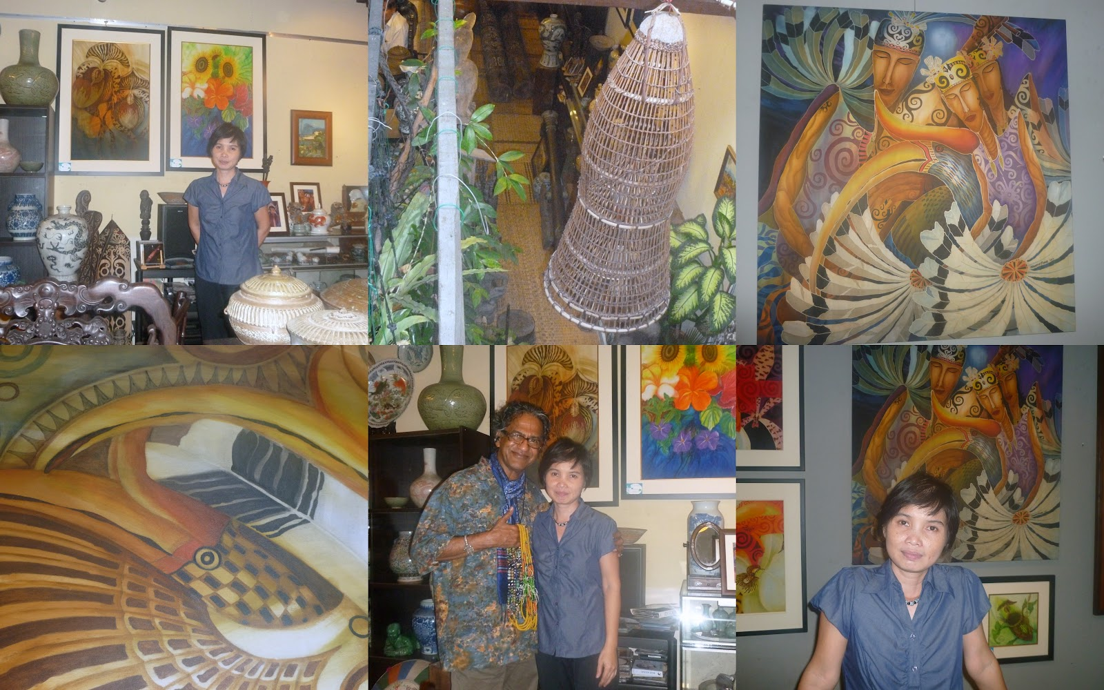 The Physician Anthropologist Meet The Bidayuh Artist Narong Daun