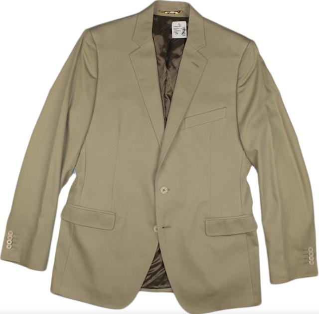 Dolce & Gabbana Khaki Luxury Blazer