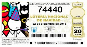 Suop Lotería Navidad 74440