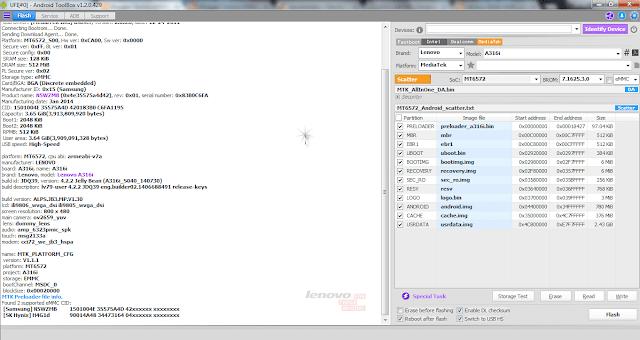 Firmware Lenovo A316i S040_140730