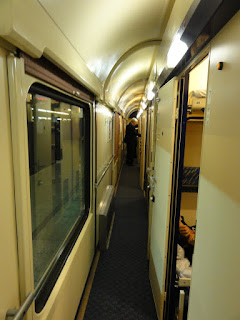 Train carriage with first class cabins (Photo courtesy of Alvin C.)