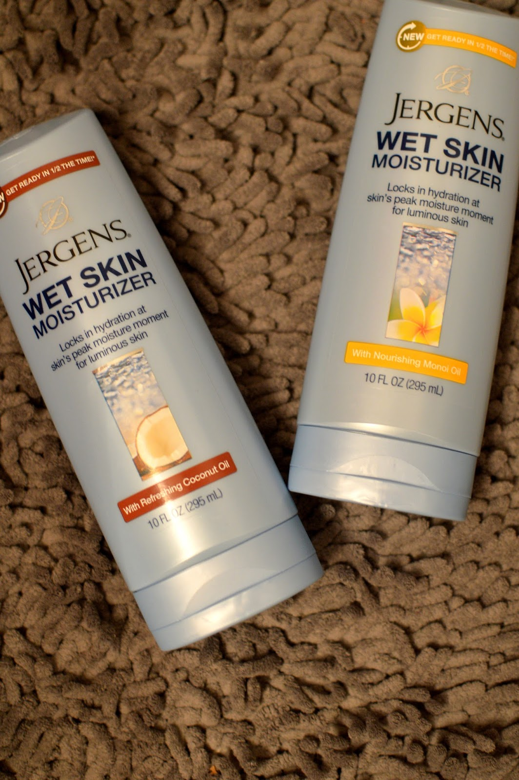 jergens wet skin moisturizer review