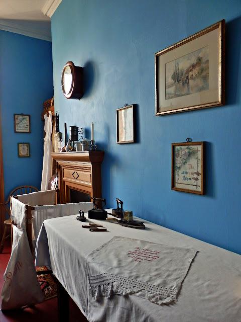 Ironing Room, Lanhydrock House, Cornwall