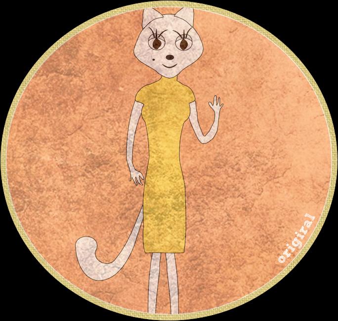 илюстрация на котка