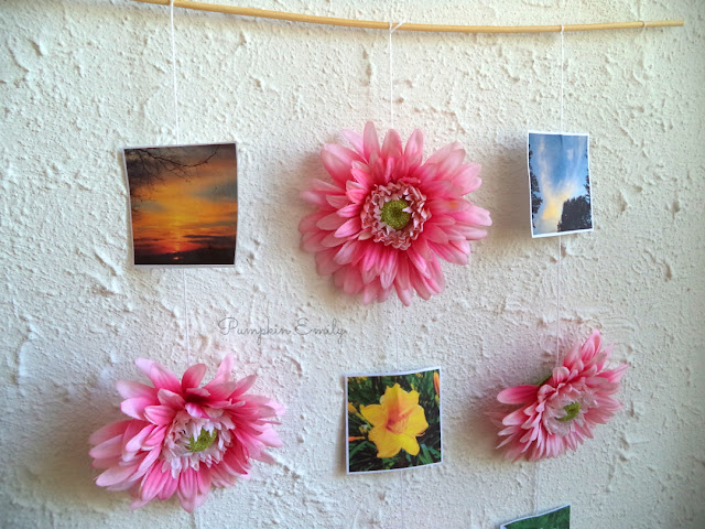 DIY Photo Display | DIY Spring Room Decor