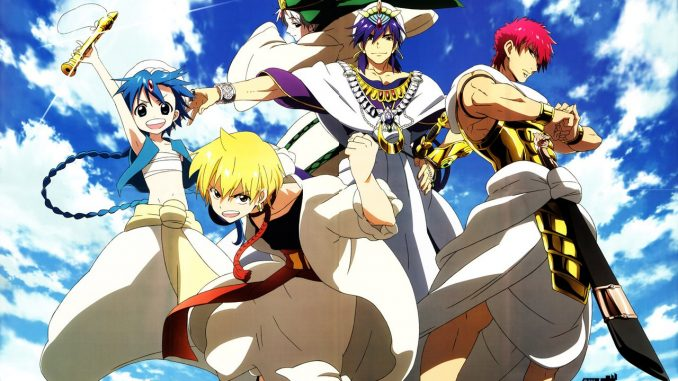 Magi: The Labyrinth of Magic BD Episode 01-25 BATCH Subtitle Indonesia