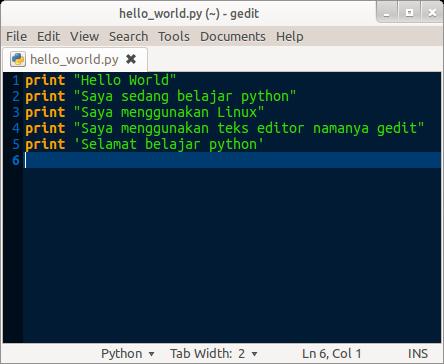 Belajar Pemrograman Python: Pengenalan Dasar Python dan Persiapan Awal