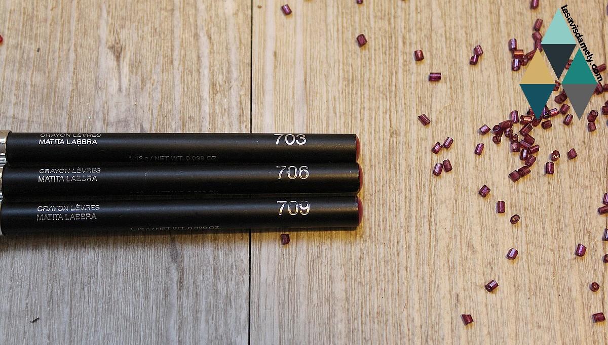 utilisation crayons à lèvres
