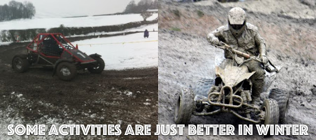 Quad Biking & Rage Buggy in the mud
