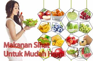 5 Jenis Makanan Sihat Untuk Mudah Hamil