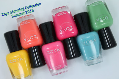 Zoya Stunning Collection for Summer 2013