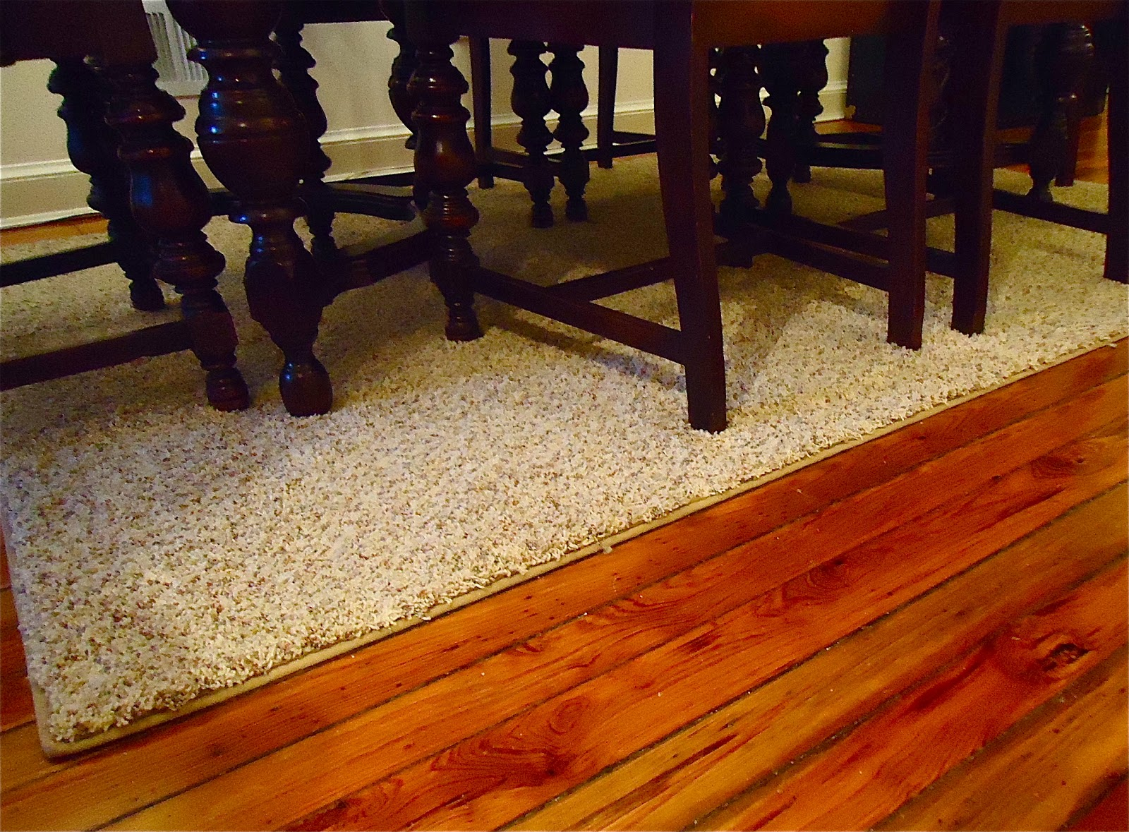 Dining Table Rugs Under Dining Table Size