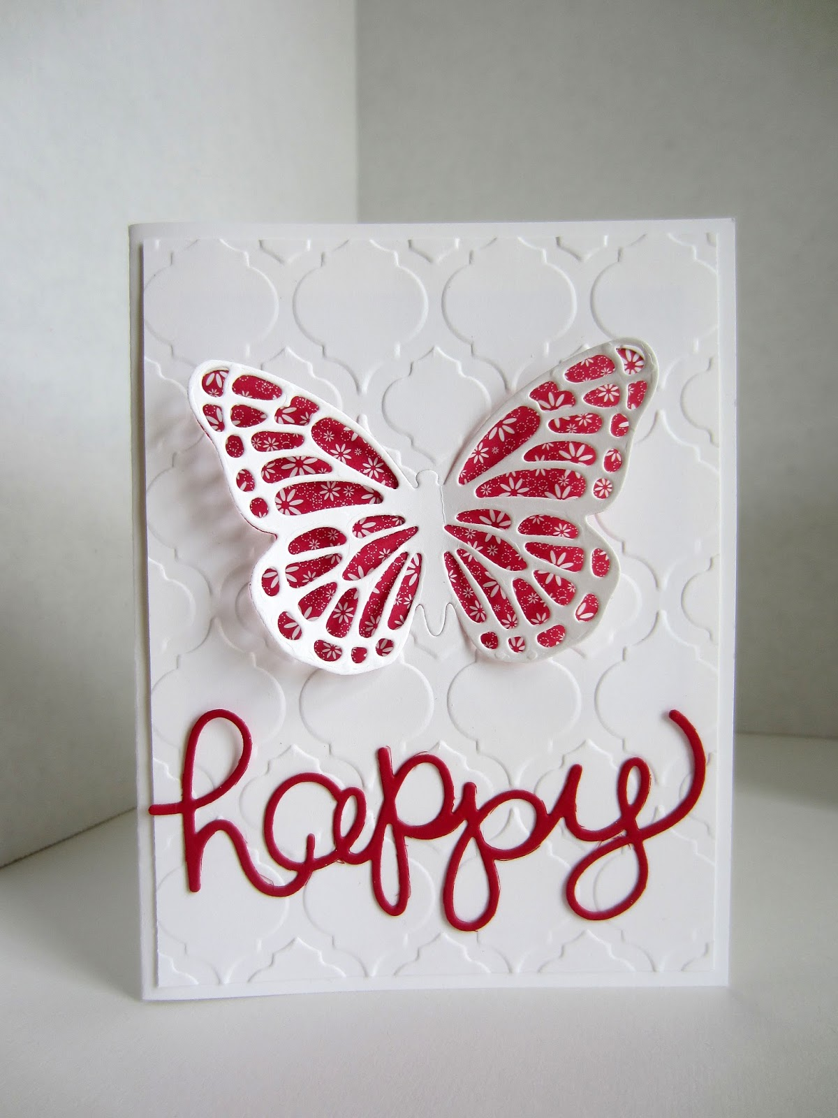 paper seedlings easy butterfly card
