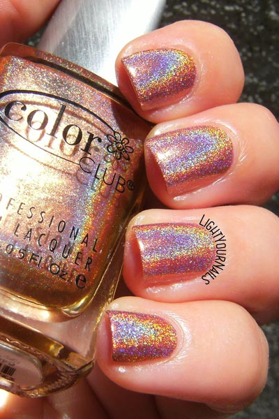 Color Club Cosmic Fate smalto olografico holographic nail polish