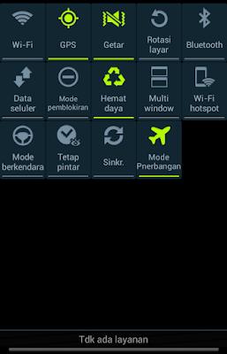 Mengaktifkan GPS Lewat Menu Asisten  Di Samsung Grand Neo GT-I9060