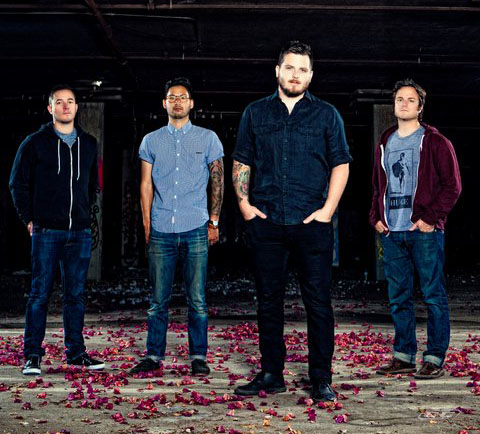 Thrice - Anthology 2012 Band Members