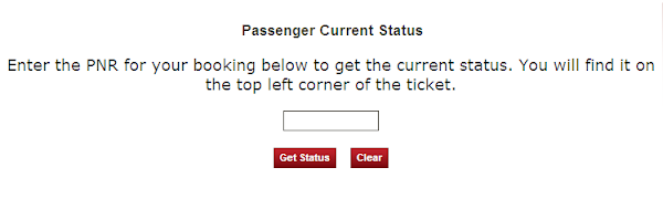 Check your PNR status. PNR status is the current reservation status of a passenger. This status includes many details about the passenger l...