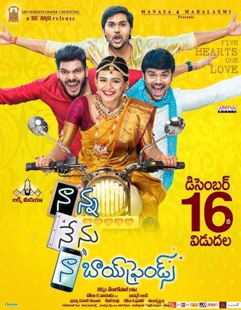 Naanna Nenu Naa Boyfriends (2016) UNCUT Dual Audio Hindi 720p HDRip x264