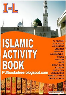 Islamic Activities book for kids in English