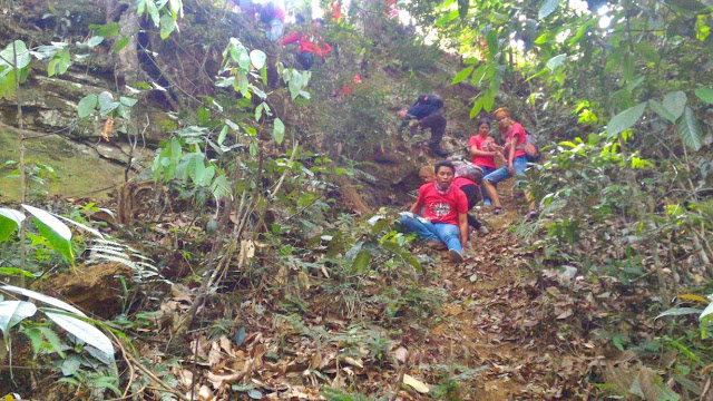 Pesona Air Terjun Batang Tanah Karo, Sumatera Utara