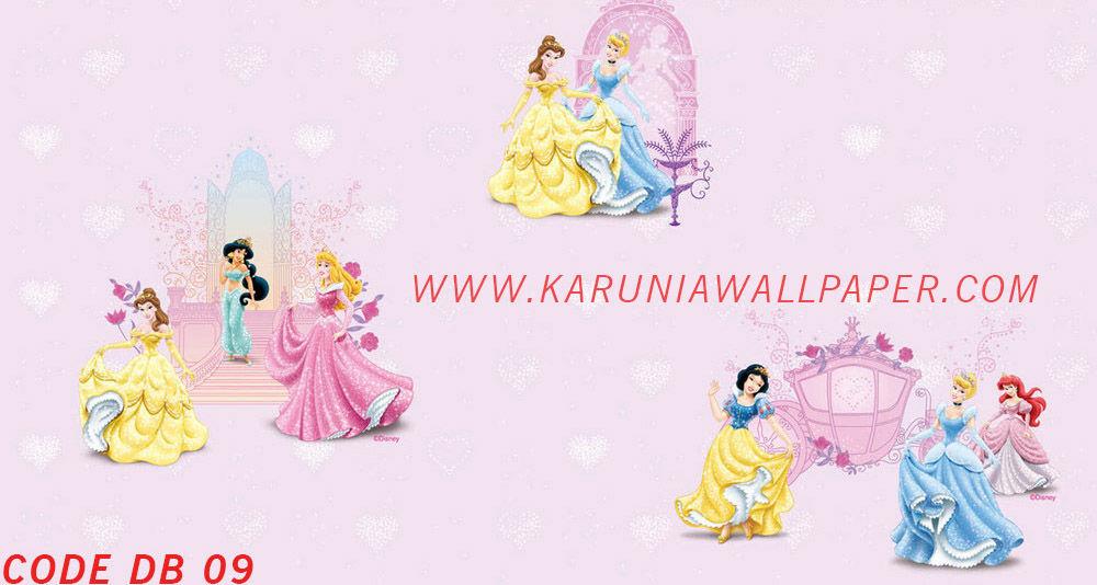 jual wallpaper anak princess disney toko karuniawallpaper