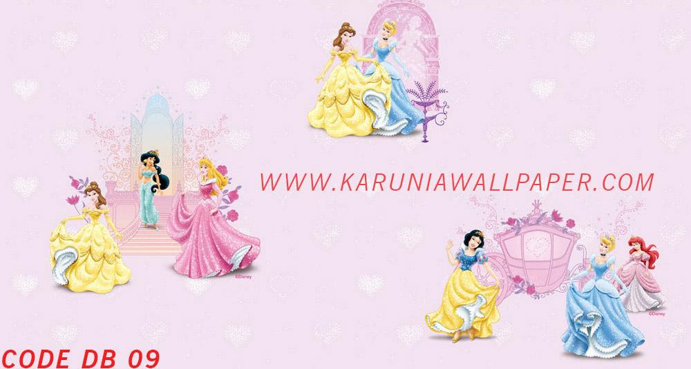 jual wallpaper anak princess disney toko karuniawallpaper