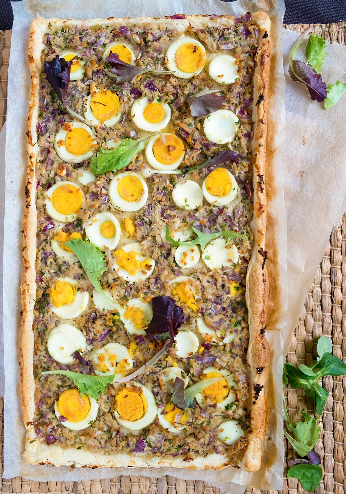 Hartige taart voor Pasen