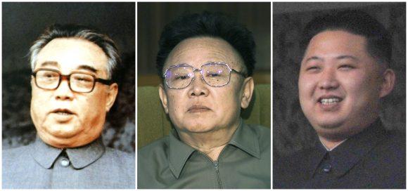 Tres generaciones de tiranos norcoreanos