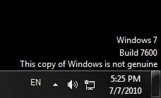 Cara Menghilangkan This Copy of Windows is Not Genuine di Windows 7