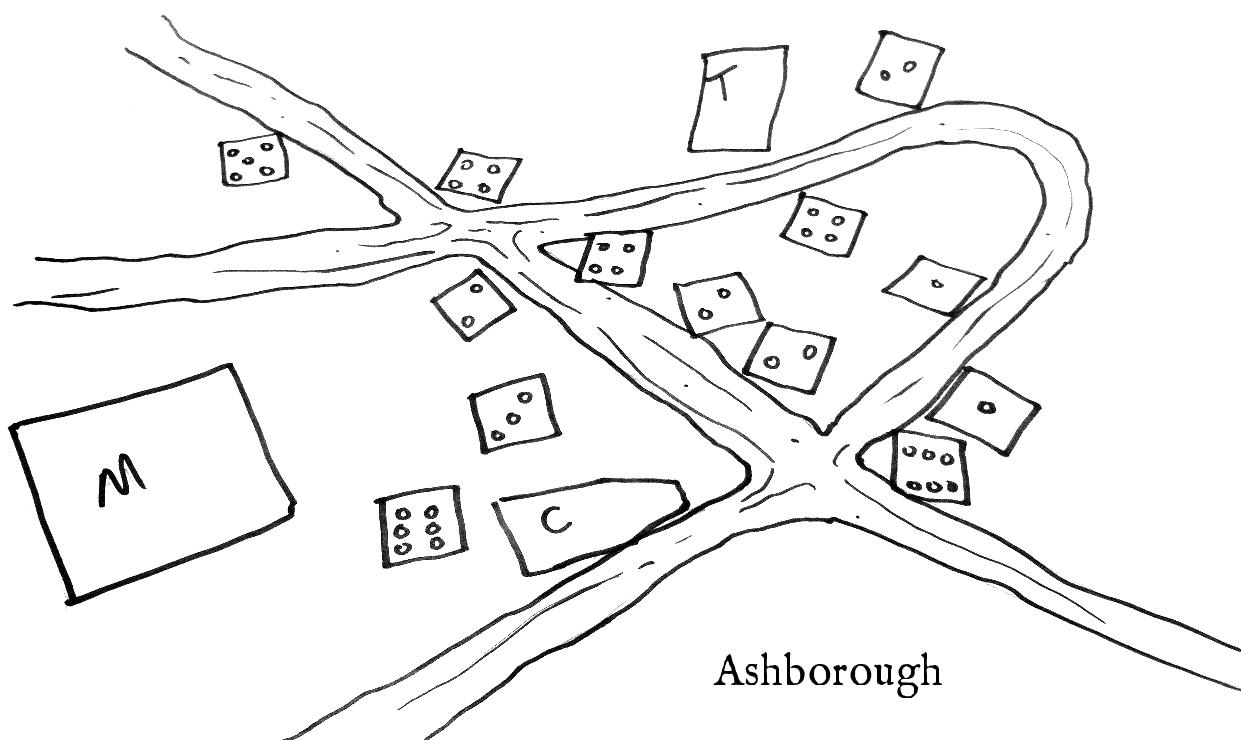 Telecanter's Receding Rules: Easy D&D Village Maps
