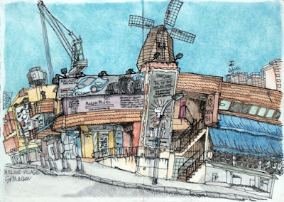 Holland Village sketch