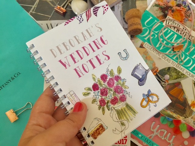 wedding planning note books
