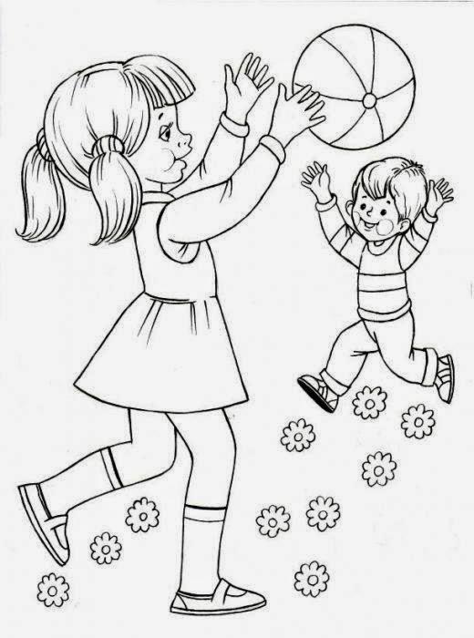 Jocuri Pentru Copii Mari şi Mici Activitati Copii Fise De