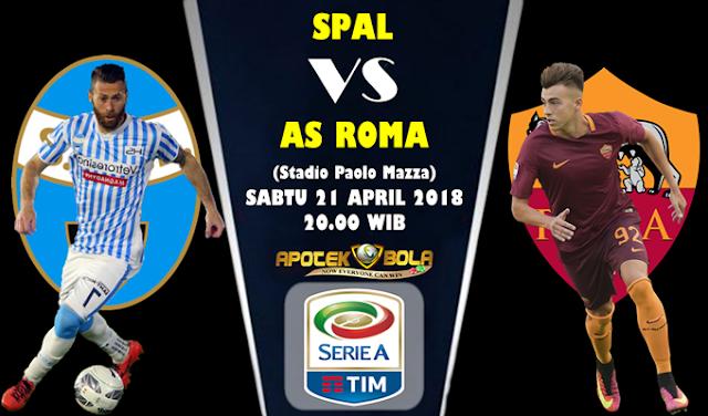 Prediksi SPAL vs AS Roma 21 April 2018