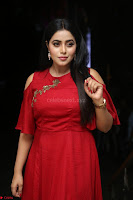 Poorna in Maroon Dress at Rakshasi movie Press meet Cute Pics ~  Exclusive 107.JPG