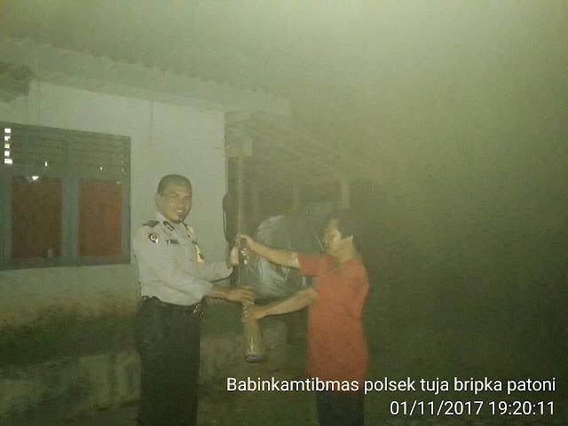 2 Warga Muba Serahkan Senpi Ke Kepolisian