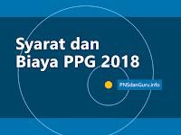 Syarat dan Biaya PPG 2018