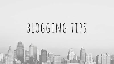 Beberapa Tips Blogger Untuk Pemula