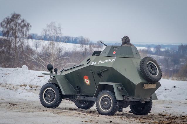 Реконструкция боя при Соколово 9.03.2018 - 26