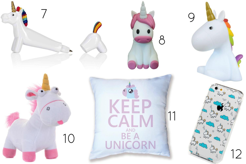 Los unicornios son tendencia esta temporada