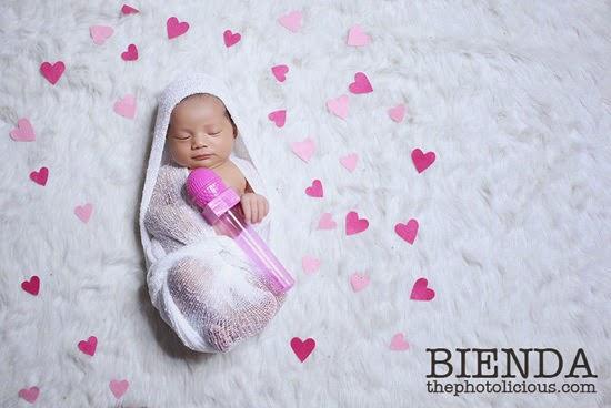 23 Gambar)Wajah Bayi Kedua Bienda Yang Sungguh Comel, Laxiendra ...