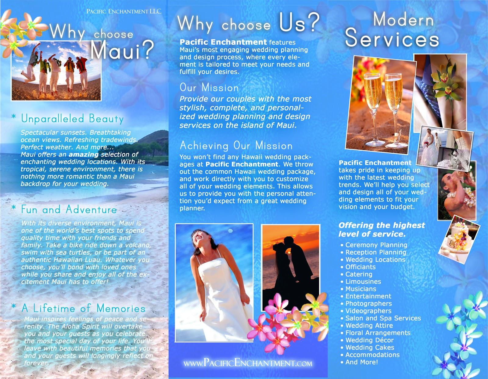 Hawaii Travel Brochure