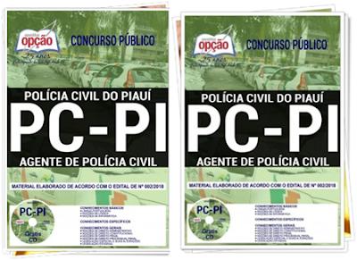 apostilas Agente de Polícia PC Piauí 2018